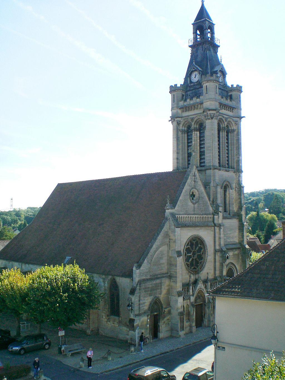 Viarmes - Eglise de Viarmes - Carnelle-Pays-de-France