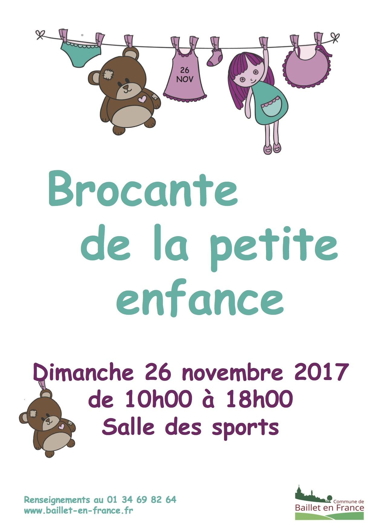 Brocante de la petite enfance baillet en france for Salon petite enfance 2017