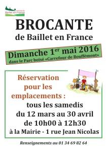 Brocante de Baillet-en-France