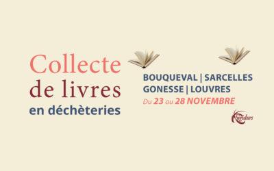 Info SIGIDURS : Collecte de livres en déchèteries