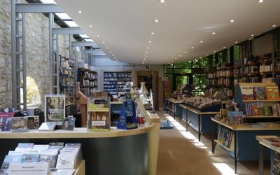 Réouverture de la librairie-boutique de Royaumont