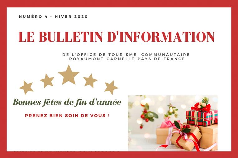Bulletin d'information #4 de l'Office de Tourisme Communautaire