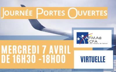 Journée portes ouvertes virtuelle de l'AFMAé