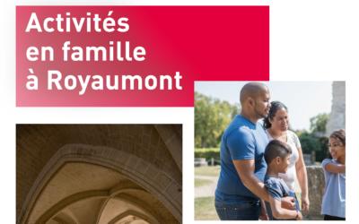 Activités en famille à Royaumont
