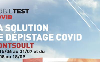 Mobiltest Covid sur Montsoult